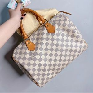 Louis Vuitton Speedy30 Damier Azur Canva
